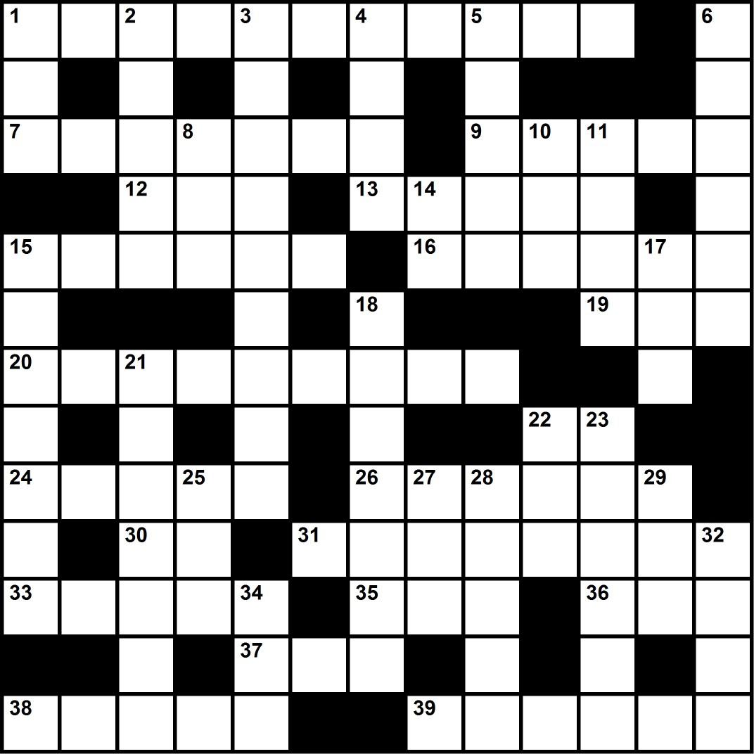 Test Pattern Crossword