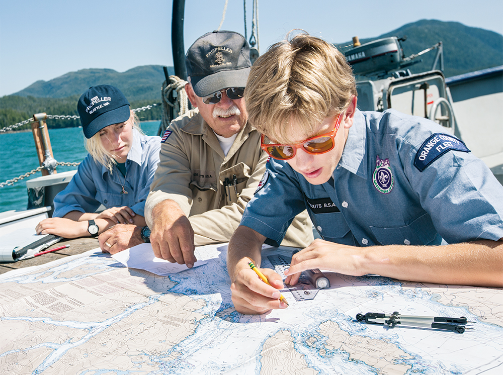 Sea-Scouts-Charting