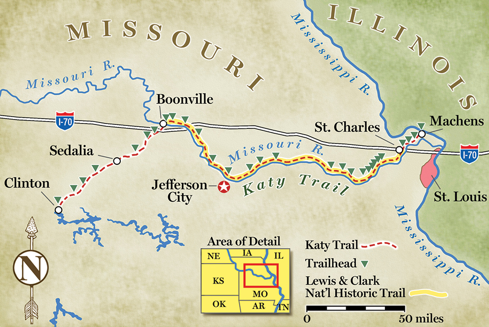 Bike or hike the por Katy Trail in Missouri Katy Trail Map on montauk state park, current river state park, north country trail, pleasanton trail map, richardson trail map, sedalia trail map, potomac heritage trail, columbus trail map, grant's trail map, m.k.t. trail, roaring river state park, lake of the ozarks state park, north carolina trail map, mark twain state park, babler state park, kentucky trail map, north richland hills trail map, appalachian national scenic trail, onondaga cave state park, ha ha tonka state park, trail of tears state park, vadnais heights trail map, washington state park, henderson trail map, graham cave state park, saint paul trail map, weatherford trail map, lewis and clark state park, cuyahoga valley brandywine falls map, carrollton trail map, phoenix trail map, the woodlands trail map, utah transit authority map, pacific northwest trail, castlewood state park, meramec state park, american discovery trail, jefferson city trail map, wichita falls trail map, deer park trail map,