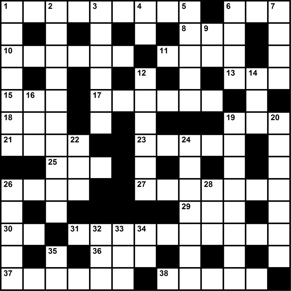 Challenge Yourself With A Merit Badge Themed Crossword Puzzle