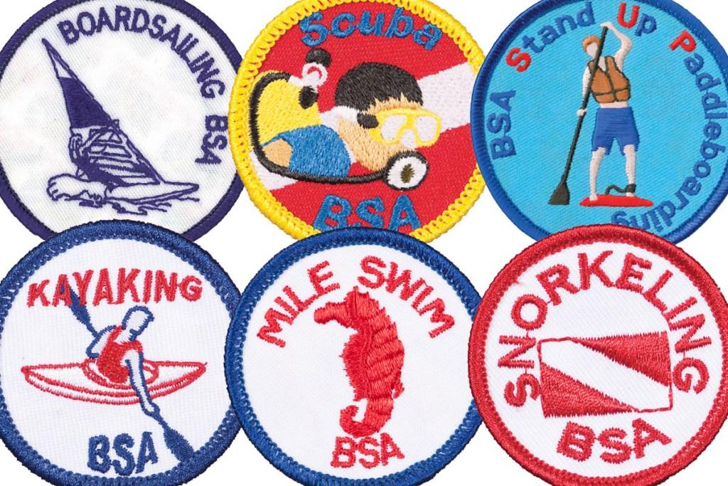 Earn a BSA aquatics award this summer