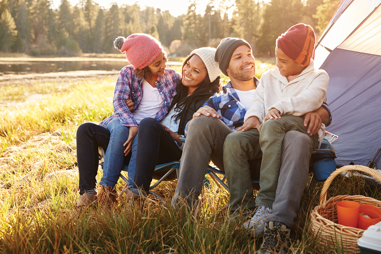 A first-timer's guide to camping with the whole family