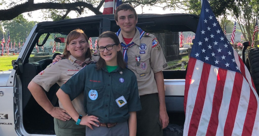 Scouting helps these families make the most of their time together