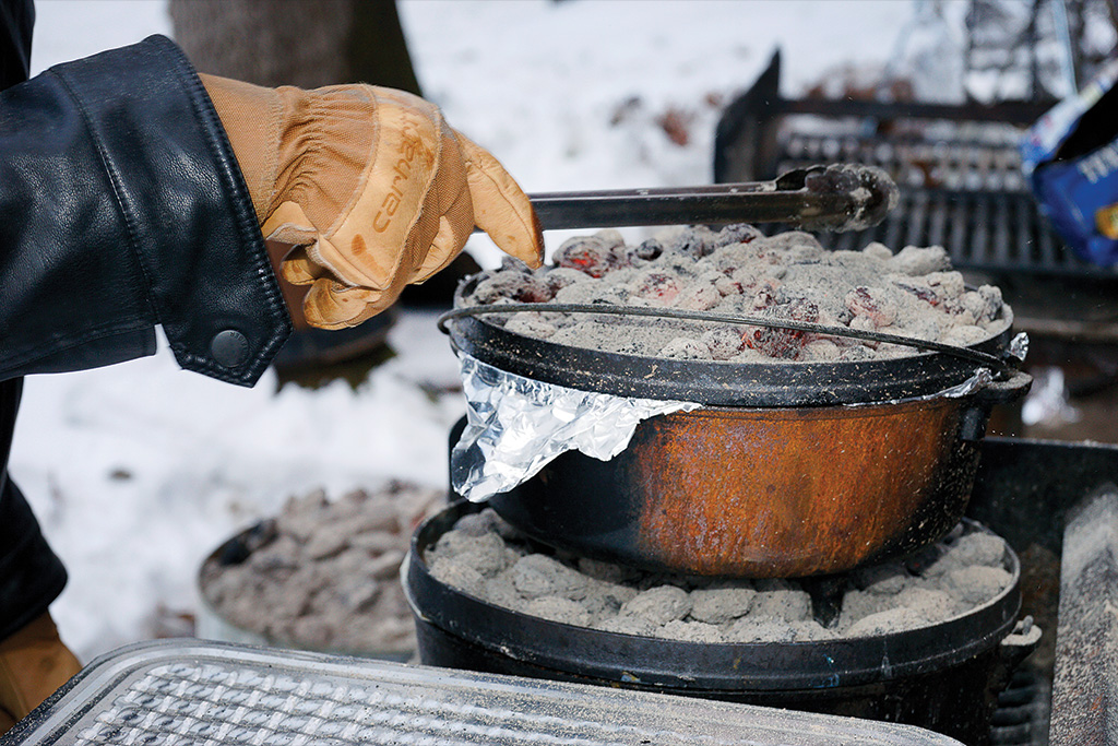 For healthier Dutch oven cooking, try these 5 gourmet camp recipes
