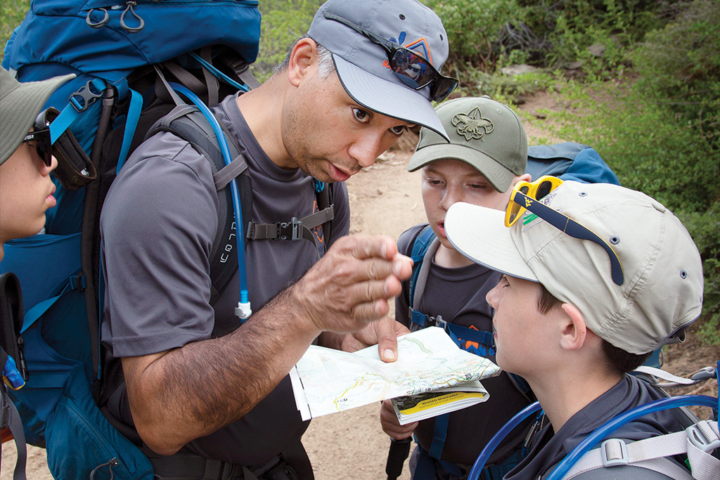 How leaders helped their Scouts plan — and replan — an epic trek