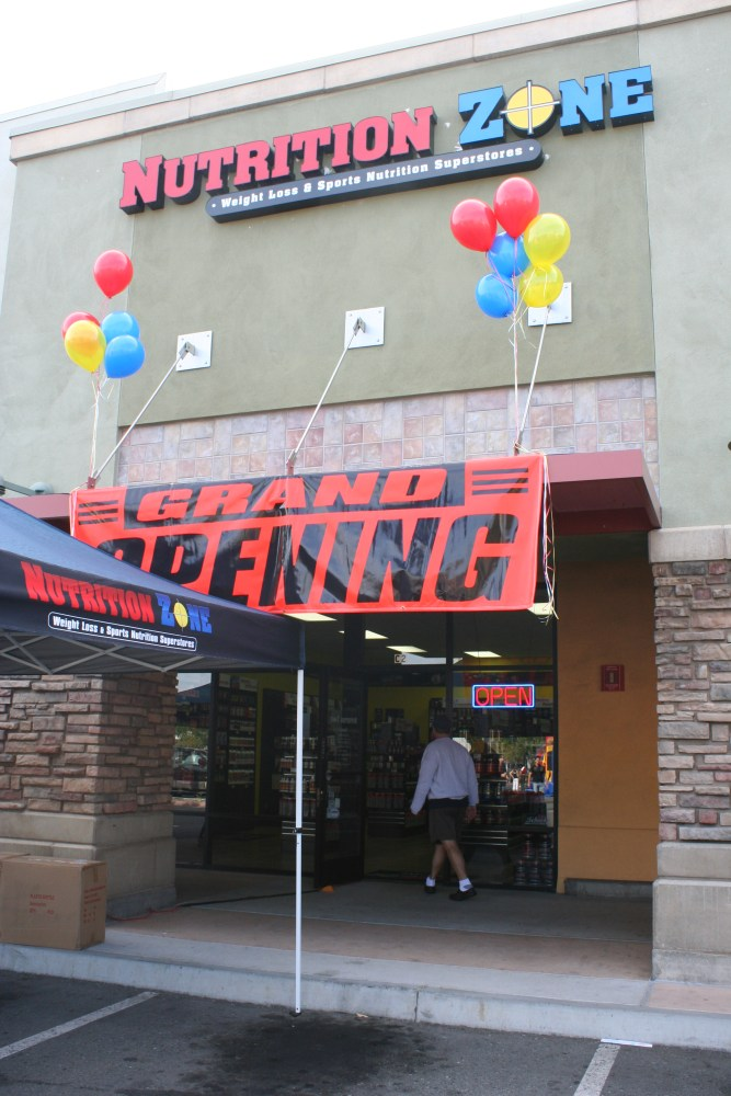 Nutrition Zone Grand Opening (1/6)