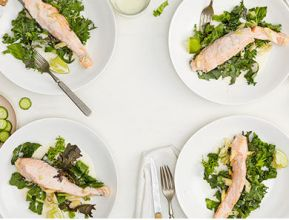 Credit: Goop; http://goop.com/recipes/coconut-poached-salmon/