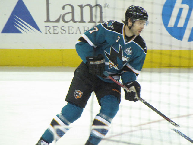 Sharks' Stuart Suspended for Elbow on Rangers' Nash