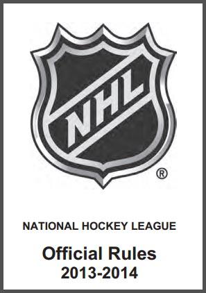 NHL 2013-14 Rule Book
