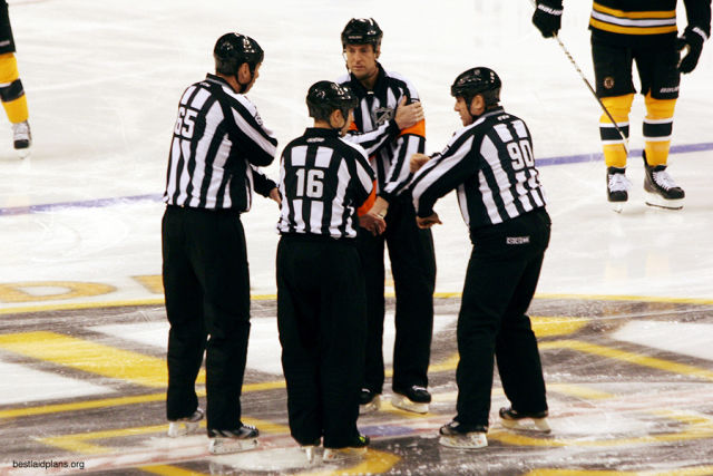 Tonight's Officials – 1/15/14