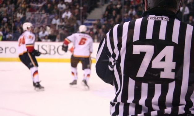 NHL Linesman Lonnie Cameron Gives Back at Hockeyville