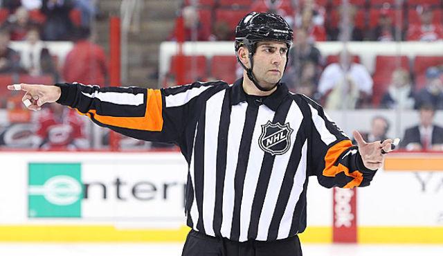 Tonight's NHL Referees – 3/24/14
