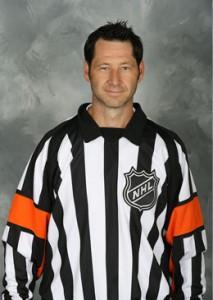 NHL Referee Steve Kozari (#40)