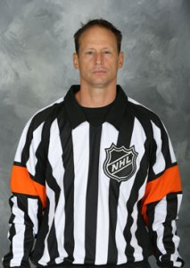 NHL Referee Chris Lee (#28)
