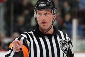 Referee Brad Meier (#34)