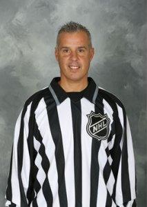 NHL Linesman Tony Sericolo (#84)