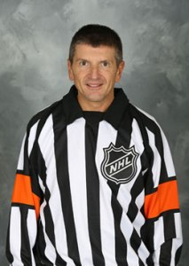 NHL Referee Tim Peel (#20)