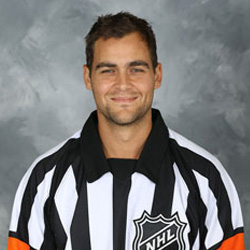 NHL Referee Jean Hebert - #14 (NHLOA)