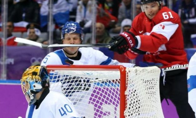 Canada Goal Disallowed vs. Finland