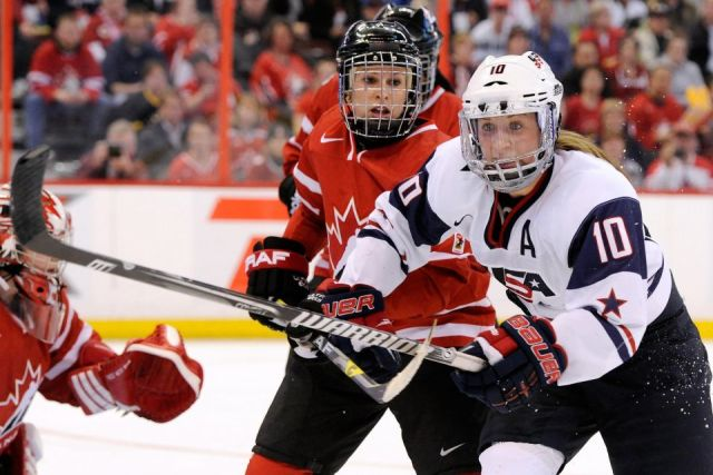 Olympic Women's Hockey Referees – Medal-Round – 2/20/14