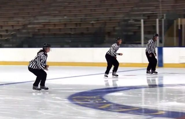 USA Hockey Referee Clinic: Behind the Scenes