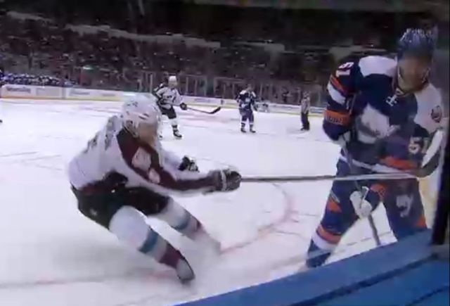 Avs' Johnson Suspended Two Games for Slash