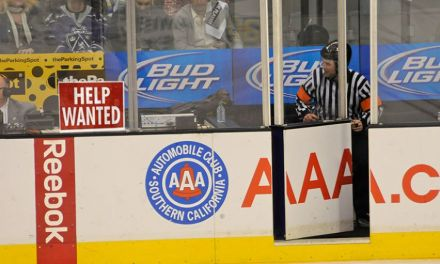 The NHL is Looking for a Few Good Refs