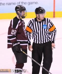 Referee Geoff Miller