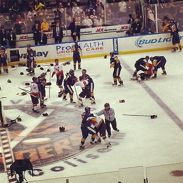 NYPD/FDNY Brawl at Charity Game
