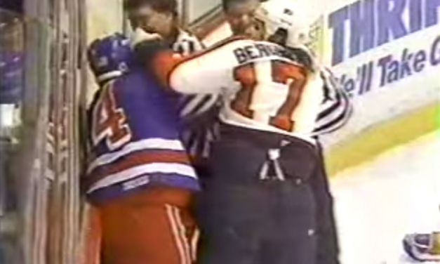 Flyers Coach Berube Punches Linesman
