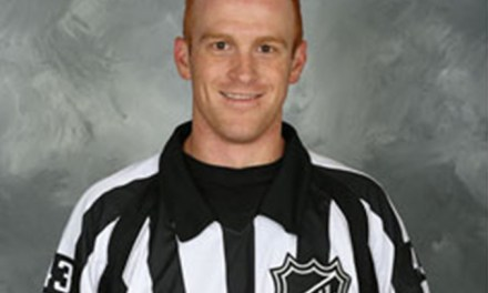 Referee Tom Chmielewski to Make NHL Debut