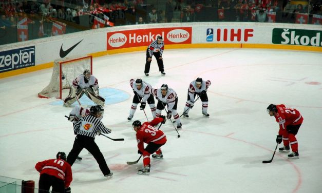 Referees & Linesmen for IIHF World Championship Medal Round