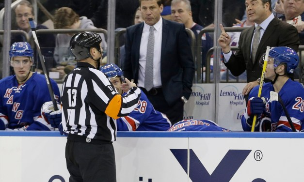 Tonight's NHL Playoff Referees – Rangers/Canadiens Game 5