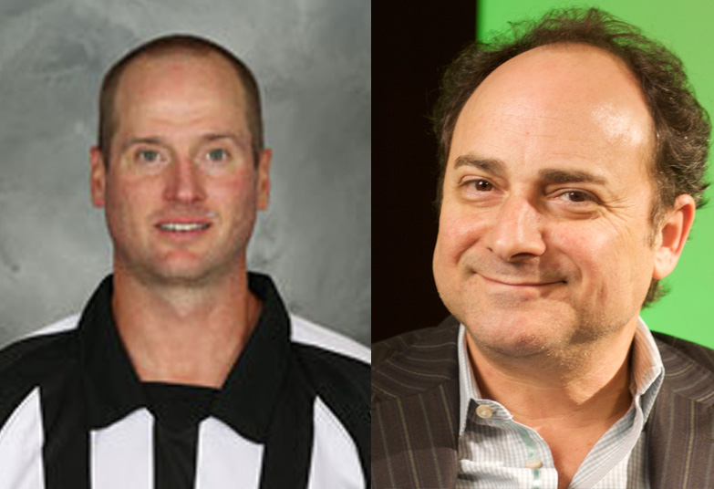 NHL Referee Kevin Pollock is Not Kevin Pollak