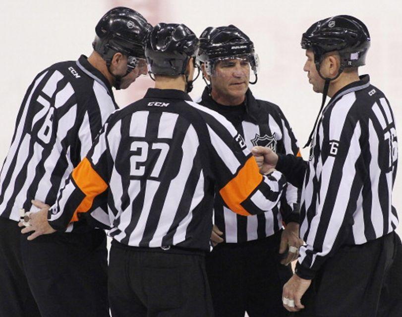 Tonight's NHL Playoff Referees – 5/6/14