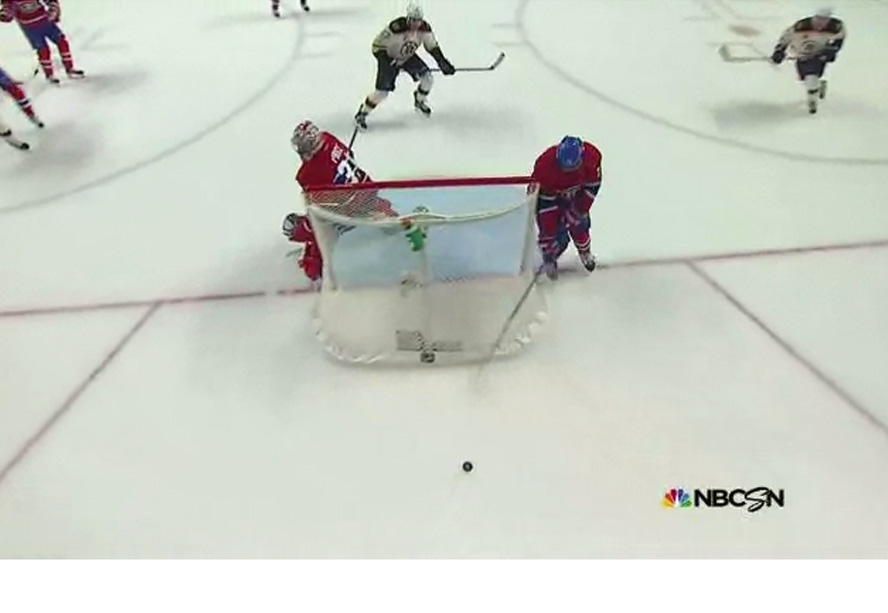 Habs' Subban Dodges Penalty on Dislodged Net