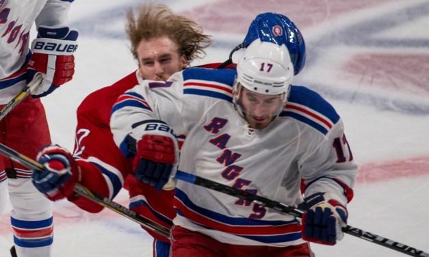 Rangers' John Moore Suspended 2 Games