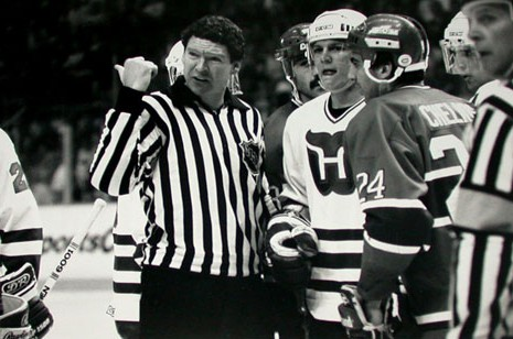Retired NHL Linesman Kevin Collins Honored