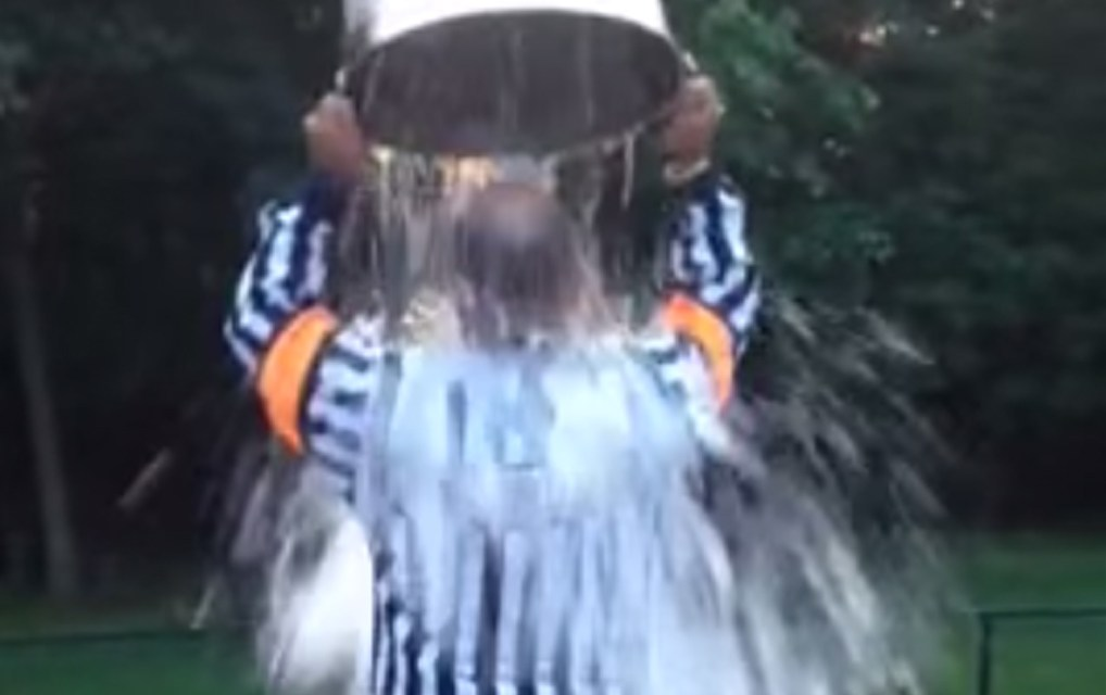 Referees, Linesmen Take the ALS Ice Bucket Challenge
