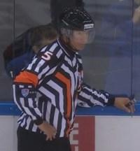 KHL Referee Sergei Karabanov (#5)