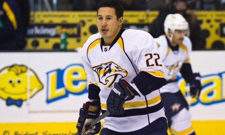 Devils' Tootoo Won't Have Hearing for Headshot