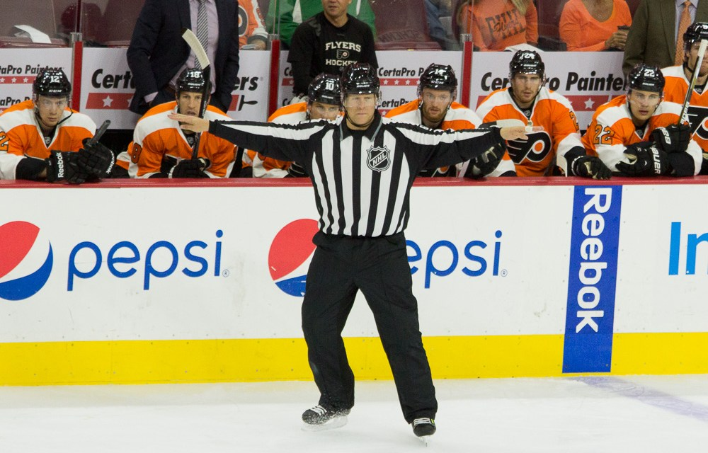 Tonight's NHL Referees & Linesmen – 3/8/15
