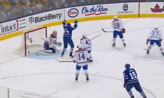 Did NHL Catch Offside on Leafs Goal?
