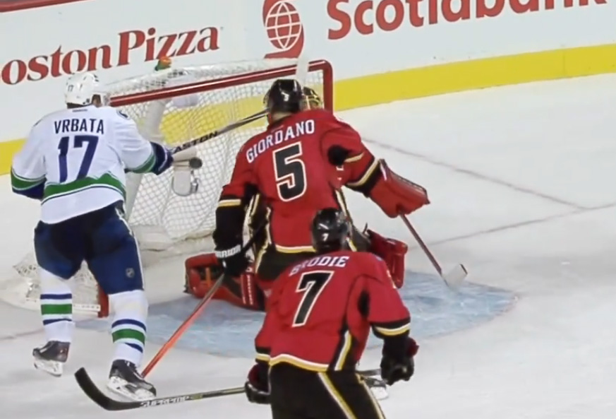 Situation Room: Vrbata Deflection in Canucks/Flames