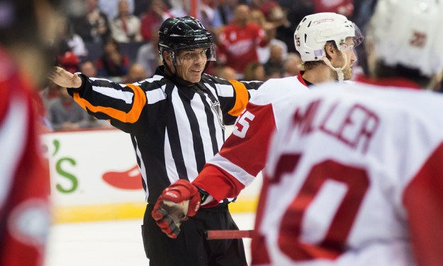 Tonight's NHL Referees & Linesmen – 12/7/15