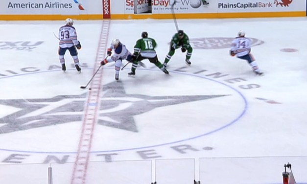 Stars' Garbutt Suspended Two Games for Kneeing Oilers' Hall