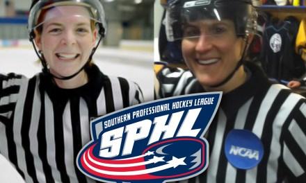 Female Referees Erin Blair & Katie Guay to Make SPHL Debuts