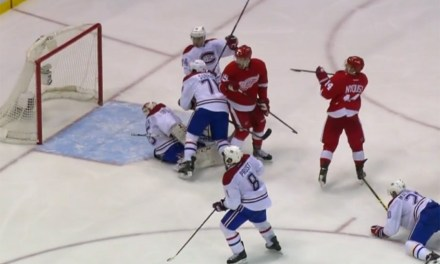 Helmet Problem Costs Habs' Tokarski