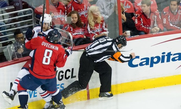 Tonight's NHL Playoff Referees & Linesmen – 5/6/15