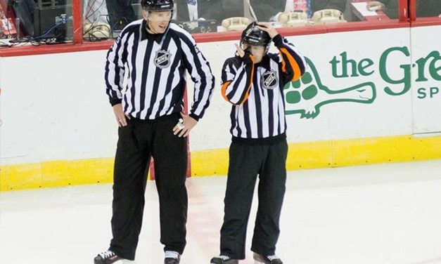 Tonight's NHL Referees & Linesmen – 3/23/15